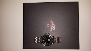 Omega Seamaster 007 James Bond Limited Edition Box Papiere