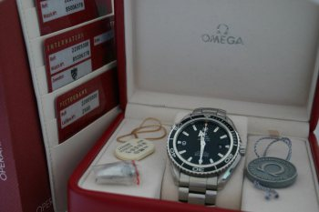 Omega Seamaster Planet Ocean Box Papiere 02 2011