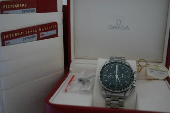 Omega Speedmaster Professional Moonwatch Box Papiere 01 2015