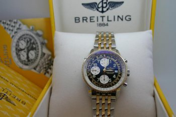 Breitling Old Navitimer Chronograph D13022 Box Papiere